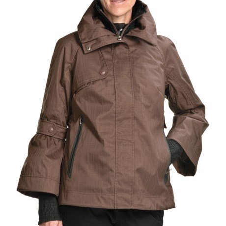 Columbia Sportswear The Hayworth Jacket - Waterproof, Insulated (For Women) in Cocoa