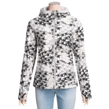 Columbia Sportswear The Tokyo Soft Shell Jacket - Reversible, Titanium (For Women) in White Print/Oyster - Closeouts