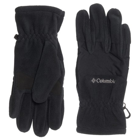 Columbia Sportswear Thermal Coil Fleece Gloves (Black)