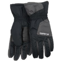 Columbia Sportswear Thermal Six Rivers Gloves (For Men) in Black/Grill - Closeouts