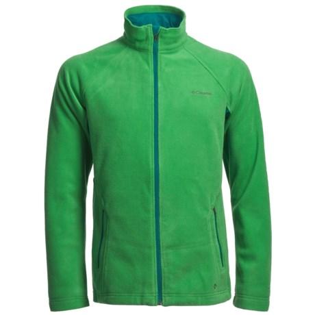 Columbia Sportswear Thermarator II Omni-Heat® Fleece Jacket (For Men) in Fuse Green