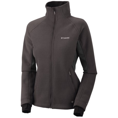 Columbia Sportswear Thermarator II Omni-Heat® Jacket (For Women) in Black/Texture
