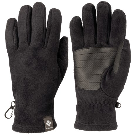 Columbia Sportswear Thermarator Omni-Heat® Fleece Gloves (For Women) in Black
