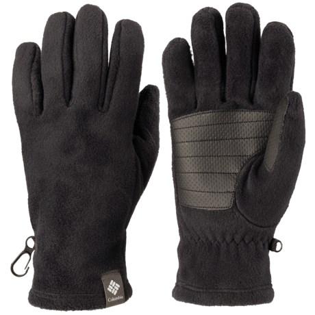 Columbia Sportswear Thermarator Omni-Heat® Fleece Gloves (For Women) in Black