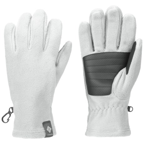 Columbia Sportswear Thermarator Omni-Heat® Fleece Gloves (For Women) in Sea Salt