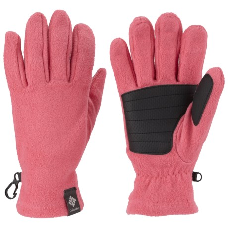 Columbia Sportswear Thermarator Omni-Heat® Gloves - Fleece (For Kids) in Afterglow