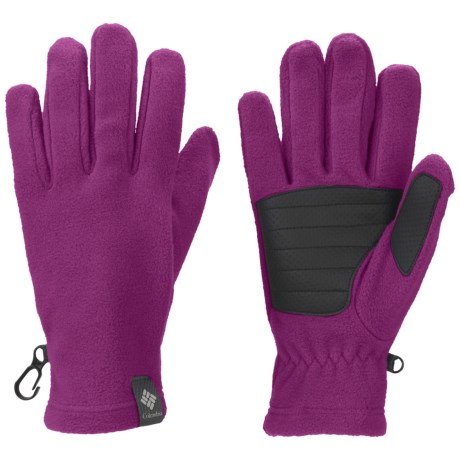 Columbia Sportswear Thermarator Omni-Heat® Gloves - Fleece (For Kids) in Deep Blush