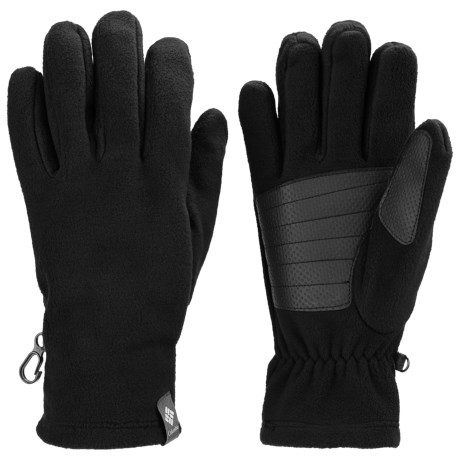Columbia Sportswear Thermarator Omni-Heat® Gloves - Fleece (For Men) in Black