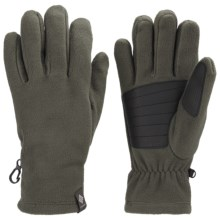 Columbia Sportswear Thermarator Omni-Heat® Gloves - Fleece (For Men) in Gravel - Closeouts