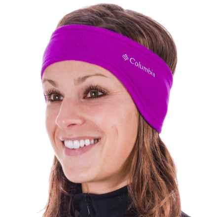 Columbia Sportswear Thermarator Omni-Heat® Headband (For Men and Women) in Bright Plum - Closeouts