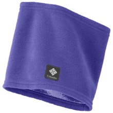 Columbia Sportswear Thermarator Omni-Heat® Neck Gaiter (For Kids) in Light Grape - Closeouts