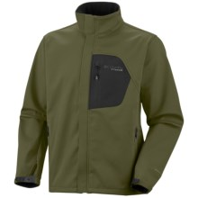 Columbia Sportswear Thermodynamic Omni-Heat® Soft Shell Jacket - Titanium (For Men) in Cilantro - Closeouts