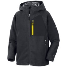 Columbia Sportswear Thermorator Hoodie Jacket - Omni-Heat®, Fleece (For Boys) in Black - Closeouts