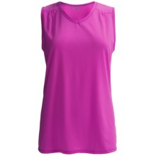 Columbia Sportswear Thistle Ridge Omni-Wick® Tank Top - UPF 15 (For Plus Size Women) in Groovy Pink - Closeouts