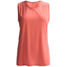 Columbia Sportswear Thistle Ridge Omni-Wick® Tank Top - UPF 15 (For Plus Size Women) in Hot Coral - Closeouts