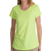 Columbia Sportswear Thistle Ridge T-Shirt - Short Sleeve (For Women) in Tippet - Closeouts