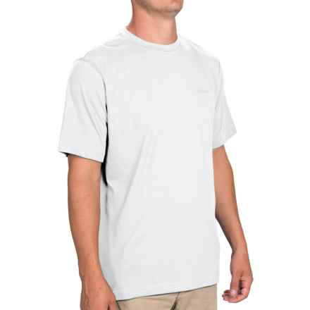 Columbia Sportswear Thistletown Park Crew Shirt - Short Sleeve (For Men) in White - Closeouts