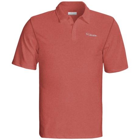 Columbia Sportswear Thistletown Park Polo Shirt - Short Sleeve (For Men) in Cinnabar Heather