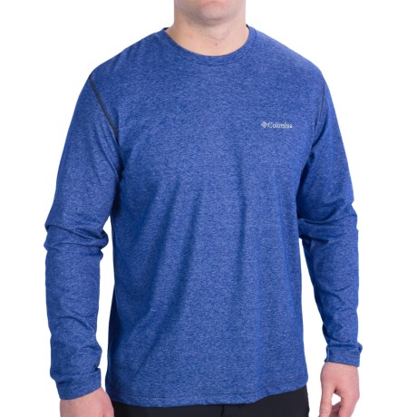 Columbia Sportswear Thistletown Park T-Shirt - Long Sleeve (For Men) in Aviation Heather
