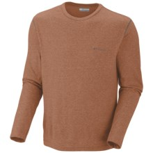 Columbia Sportswear Thistletown Park T-Shirt - Long Sleeve (For Men) in Cedar Heather - Closeouts