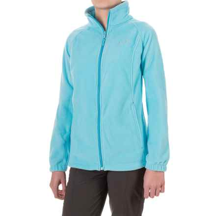 Columbia Sportswear Three Lakes Fleece Jacket (For Women) in Atoll - Closeouts