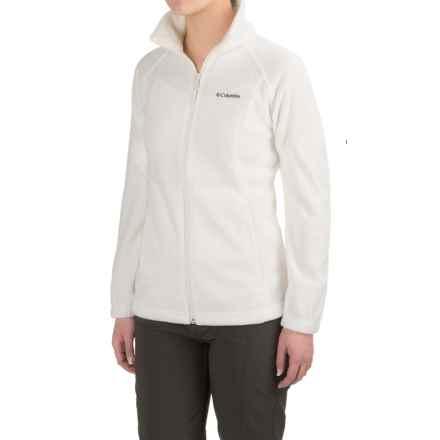 Columbia Sportswear Three Lakes Fleece Jacket (For Women) in Sea Salt - Closeouts
