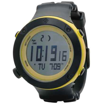 Columbia Sportswear Tidewater Sport Watch in Black/Yellow - Closeouts