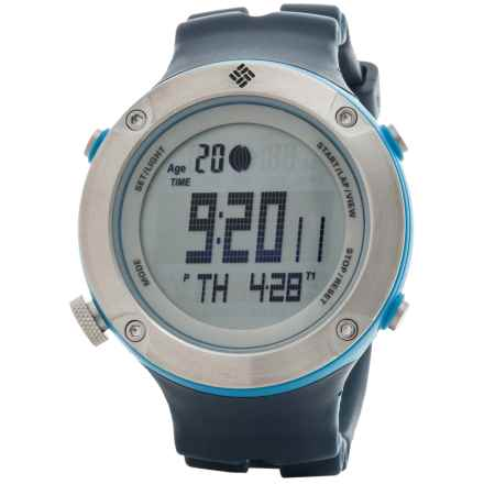 Columbia Sportswear Tidewater Sport Watch in Blue/Silver/Blue - Closeouts