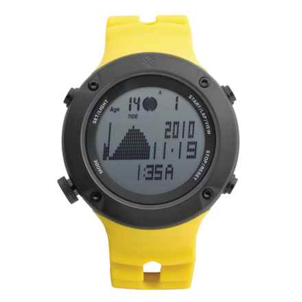 Columbia Sportswear Tidewater Sport Watch in Sunny/Black - Closeouts