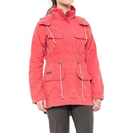 Columbia Sportswear Tillicum Bridge Long Jacket (For Women) in Sunset Red