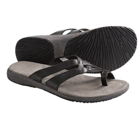 Columbia Sportswear Tilly Jane Weave Sandals - Leather (For Women) in Black
