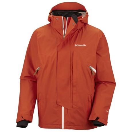 Columbia Sportswear Timber Tech Omni-Heat® Omni-Dry® Jacket - Waterproof (For Men) in Autumn Orange
