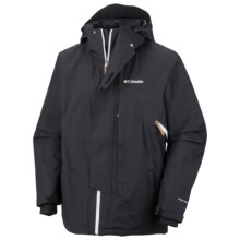 Columbia Sportswear Timber Tech Omni-Heat® Omni-Dry® Jacket - Waterproof (For Men) in Black - Closeouts