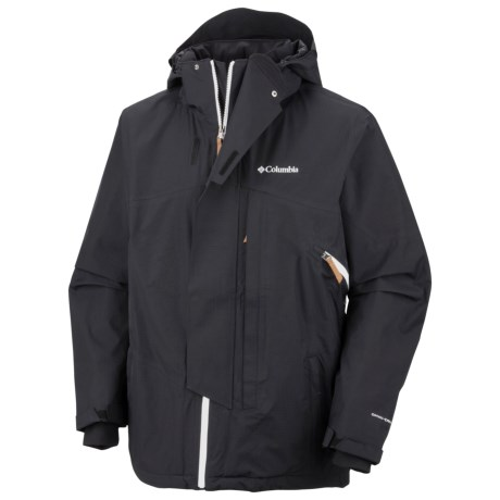 Columbia Sportswear Timber Tech Omni-Heat® Omni-Dry® Jacket - Waterproof (For Men) in Truffle