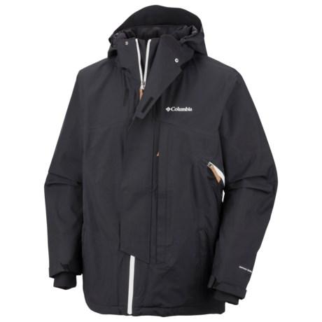 Columbia Sportswear Timber Tech Omni-Heat® Omni-Dry® Jacket - Waterproof (For Men) in Black