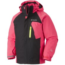 Columbia Sportswear Tonpaite Omni-Heat® Jacket - Waterproof, Insulated, 3-in-1 (For Youth) in Afterglow - Closeouts