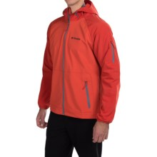 Columbia Sportswear Torque Soft Shell Jacket (For Men) in Super Sonic - Closeouts