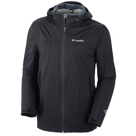Columbia Sportswear Tracer Racer Omni-Tech® Jacket - Waterproof, Omni-Wick® EVAP (For Men) in Black