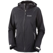 Columbia Sportswear Tracer Racer Omni-Tech® Shell Jacket - Waterproof (For Women) in Black - Closeouts