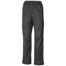 Columbia Sportswear Trail Adventure Pants - Waterproof (For Little and Big Kids) in Grill - Closeouts