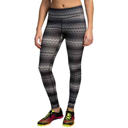 Columbia Sportswear Trail Bound Omni-Wick® Leggings (For Women) in Black Fairisle - Closeouts