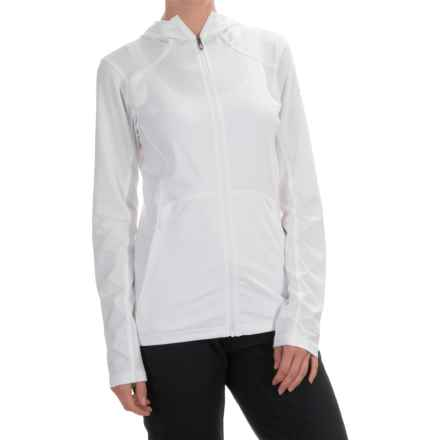 Columbia Sportswear Trail Crush Sporty Hoodie - UPF 30 (For Women) in White - Closeouts