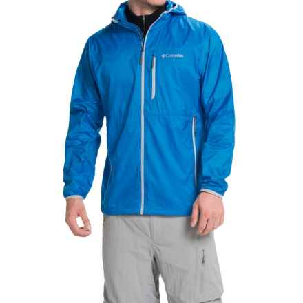 Columbia Sportswear Trail Drier II Jacket (For Men) in Hyper Blue - Closeouts
