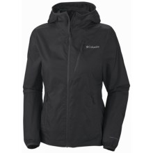 Columbia Sportswear Trail Drier Windbreaker Jacket (For Women) in Black - Closeouts