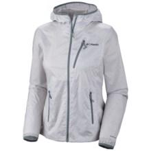 Columbia Sportswear Trail Drier Windbreaker Jacket (For Women) in White/Grey - Closeouts