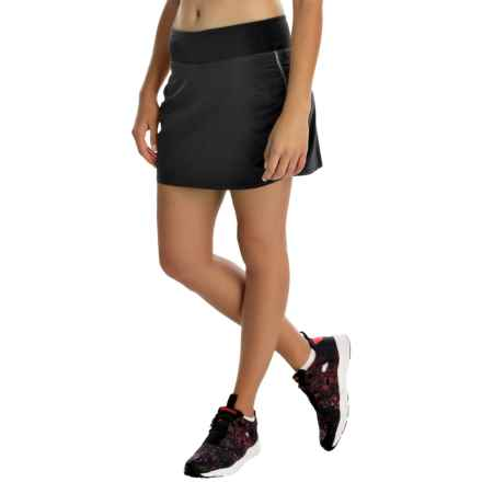Columbia Sportswear Trail Flash Omni-Wick® Skort (For Women) in Black - Closeouts