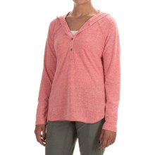 Columbia Sportswear Trail Shaker Hoodie - Omni-Wick® (For Women) in Coral Bloom Heather - Closeouts