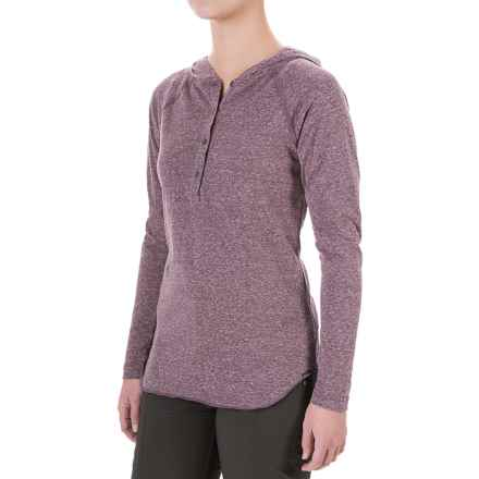 Columbia Sportswear Trail Shaker Hoodie - Omni-Wick® (For Women) in Purple Dahlia Heather - Closeouts