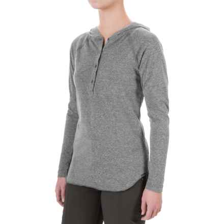 Columbia Sportswear Trail Shaker Hoodie - Omni-Wick® (For Women) in Shark Heather - Closeouts