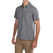 Columbia Sportswear Trail Shaker Omni-Wick® Polo Shirt - Short Sleeve (For Men) in Grey Ash Heather - Closeouts